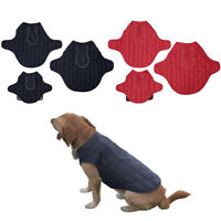 Pet Dog Cat Coat Winter Jacket Quilted Insulated Padded Warm Vest Pet's Clothes