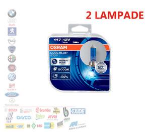 KIT COPPIA LAMPADE H7 LUCE BLU FREDDA 80W 5000K OSRAM COOL BLUE 62210CBB-HCB