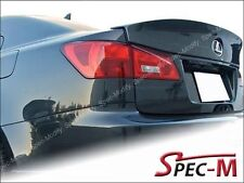 W Wide Style Trunk Carbon Fiber Wing Spoiler For 2006-2013 Lexus IS250 IS350 ISF