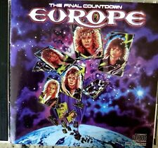 The Final Countdown by Europe (CD, 1986, Epic) Out of Print..