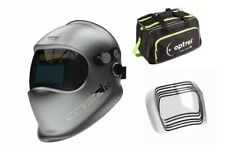 Optrel Crystal 2.0 1006.900 Welding Helmet Free duffel bag and 5 pack of lens