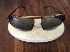 Yves Saint Laurent Square Aviator Sunglasses YSL 2066 Made in Italy