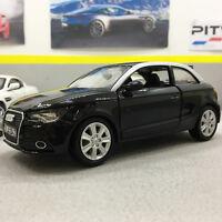 Audi  A1 Black 1:24 Scale Die-Cast Model Car
