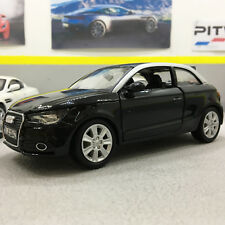 Audi  A1 Black 1:24 Scale Die-Cast Model Car