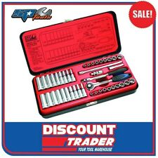 "SP Tools Socket Set 1/4"" Drive 12 & 6 Point 43 Piece Metric/SAE - SP20101"