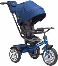 Bentley Trike 6-in-1 Reversible Seat Convertible Tricycle Stroller Sequin Blue