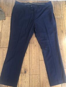 New Men's House Of Cavani Jefferson Navy Trousers  Size 40 R £19.99 Or BestOffer