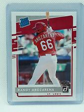 Randy Arozarena 2020 Donruss Baseball Rated Rookie RC #51 St. Louis Cardinals