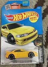 2016 Hot Wheels Custom 2001 Acura Integra GSR Night Burnerz Yellow W/Paint Error