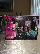 Monster High Dolls Coffin Bean Coffee Furniture Set Clawdeen + Draculaura rare