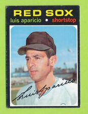 1971 Topps - Luis Aparicio (#740)  Boston Red Sox