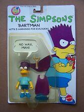 BART SIMPSON Bartman The Simpsons Mattel 1990 MOC RARE!