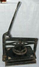 RACINE STEEL CAST IRON COPYING BOOK PRESS WHEEL AND LEVER 1901-1905