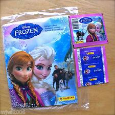 Disney FROZEN Panini Sticker Album plus BONUS 2 Packs (14 stickers) SEALED NEW