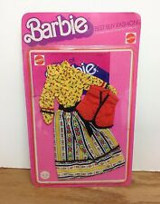 Flowered Dress 1976 Mattel BARBIE Best Buy Fashions for Marie Osmond PJ Christie