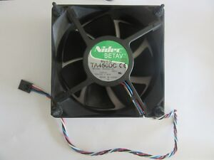 Nidec Betav TA450DC B35502-35 Fan 12V 1.40A 5-Pin 120mm x 38mm Y4574 TESTED