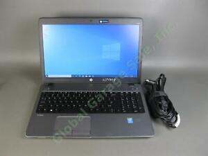 HP ProBook 450 G1 Laptop Computer i5-4200M 4GB 500GB Win10 WIFI DVD Webcam Power