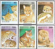 Benin Block19 Postfrisch 1996 Wildkatzen kompl.ausg.