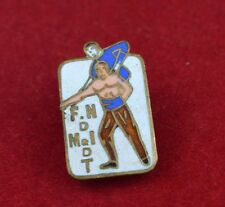 Vintage French badge button Circus Couloy Paris