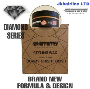 GUMMY  BRIGHT FINISH HAIR STYLING WAX 36 X 150 ML  1 BOX NEW DIAMOND SERIES