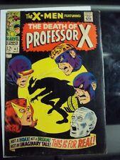 X-Men #42 Original Team, Death of Professor X (First of Many) Silver/Bronze Age