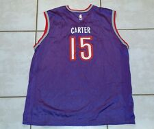 Vintage CHAMPION Toronto Raptors Vince Carter Jersey Purple/Gray Men Size 48 XL