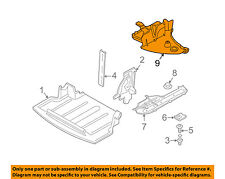 BMW OEM 03-08 Z4 Splash Shields-Lower Cover Left 51717168995