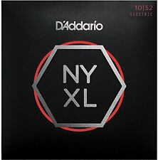 D'Addario Nickel Wound Electric Guitar Strings, Light Top / Heavy Bottom, 10-52