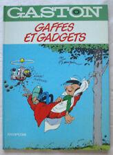 Gaston Lagaffe T 0 Gaffes et Gadgets FRANQUIN éd Dupuis 3è tr 1985 EO