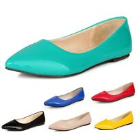 Ballet Flats Vintage Pumps Ballerinas womens party Dolly Shoes plus size UK 0-13