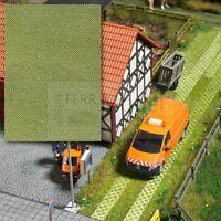BUSCH 7430 - Pavimentazione in blocchi di cemento ed erba, scala H0