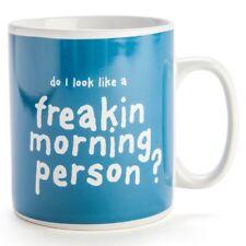 Freakin Morning Person Giant Mug 900ml tea cup gift funny ceramic