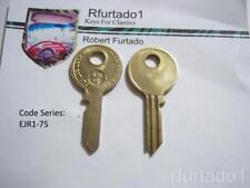 Key Blank for Vintage Norton, BSA, Triumph Motocycle Fork Lock (see Code Series)