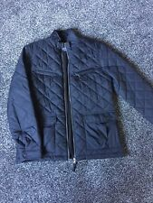 Mens Next Quilted Navy Jacket Size M
