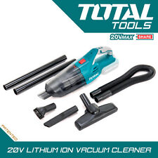Total Tools 20v Li-Ion Cordless Vacuum Cleaner Lightweight Bagless, Body Only