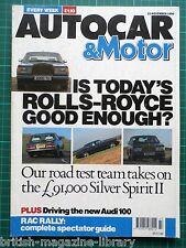 Autocar 1990 Integrale 16v vs Celica GT-Four vs Sierra Cosworth Silver Spirit II