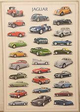 (PRL) 1993 JAGUAR AUTO EPOCA CAR VOITURE AUTOMOBILE VINTAGE AFFICHE POSTER PRINT