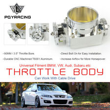 "3.5"" 90MM High Flow Billet Aluminum Throttle Body Performance Intake Manifold SL"