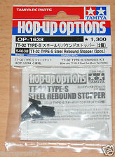 Tamiya 54638 TT-02 Type-S Steel Rebound Stopper (2 Pcs.)(TT02 Type-S Drift), NIP
