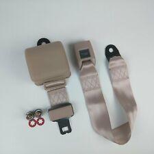 2 Point Retractable Off White Lap Seat Belt (1 Belt) AutoLoc SB2PROW rat custom