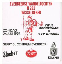 Data viltje Br Roman - Everbeekse Wandeltochten 26 juli 1998