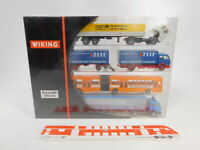 CA189-0,5 # Wiking 1:87/H0 198301 Set Werbemodelle 1982/83 : Man + MB,Neuf + Ovp