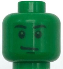 LEGO NEW GREEN MONSTER MINIFIGURE HULK HEAD PIECE