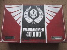 WARHAMMER 40,000 LIMITED EDITION ED COFANETTO NUMERO DI SERIE IMPERIALE 0400 NM