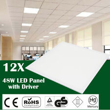 12 x 48W LED Recessed Celing Panel (Cool White 6500 K) 595 x 595 x 10mm /1Y