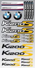 K1200S motorrad motorcycle decal set premium stickers bmw K1200 S Laminated yel