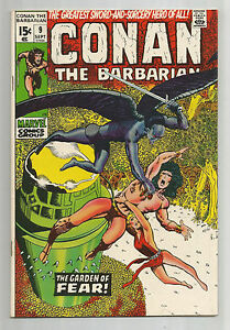 """Conan the Barbarian #9: Bronze Age Grade 9.0 Find """"The Garden of Fear""""!!"""