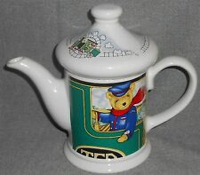 Wade Ceramic LOCOMOTIVE JOE 16 oz Teapot JUDITH WOOTEN Made in England
