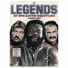 WWE: Legends of Mid-South Wrestling (DVD, 2013, 3-Disc Set)