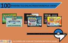 100 NEW Pokemon TCG Online Booster Packs +Promo Codes!Tapu lele Keldeo MEW?EXGX?